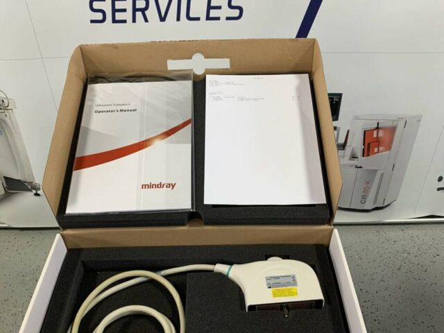 120-001761-00 MINDRAY L14-6WE LINEAR PROBE / TRANSDUCER